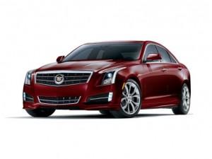 2014 Cadillac ATS Crimson Sport Edition