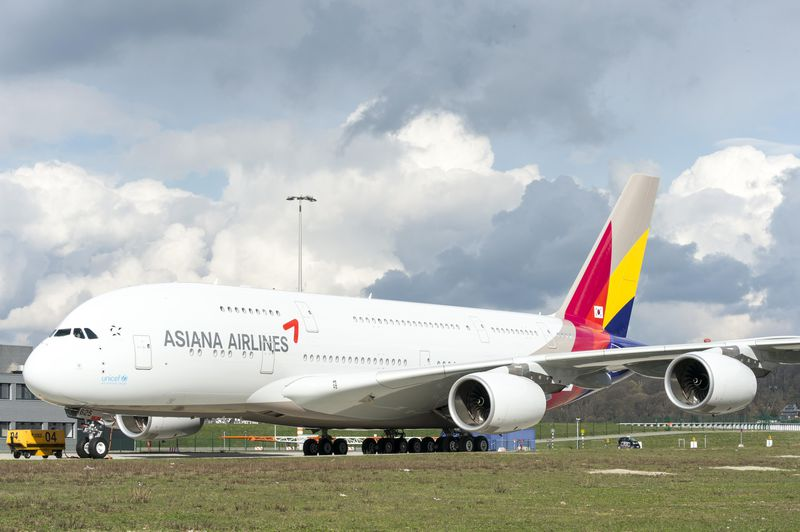 First A380 For Asiana Airlines Shines In Full Livery