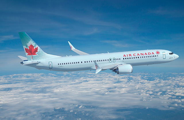 Boeing, Air Canada Finalize Order For 61 737 MAXs