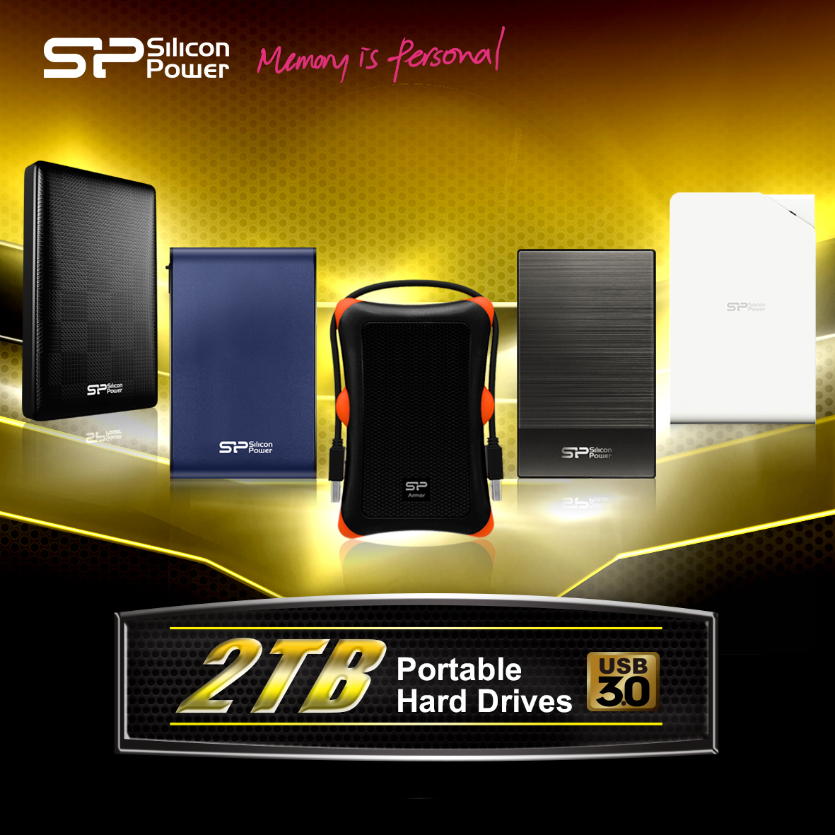 USB 3.0 Portable Hard Drives