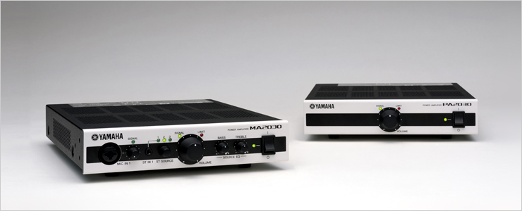 Yamaha Announces Compact MA2030 And PA2030 Power Amplifiers