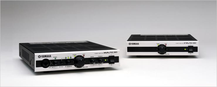 Yamaha MA2030 And PA2030 Power Amplifiers