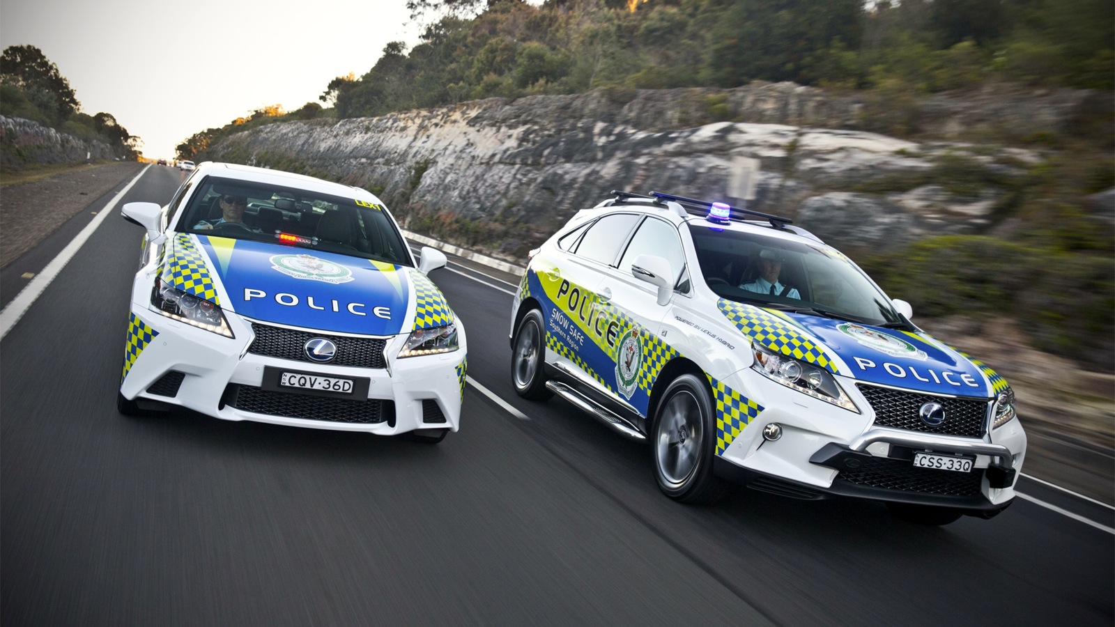 LEXUS AND NSW POLICE