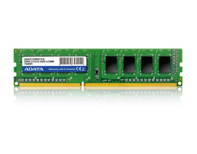 ADATA Releases Premier DDR4 2133 U-DIMM Memory