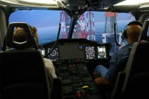 EC175 full-flight simulator