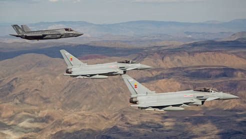 F-35 and Typhoon join forces