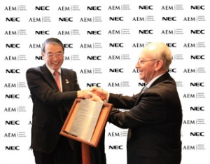 NEC and the Mexican Space Agency