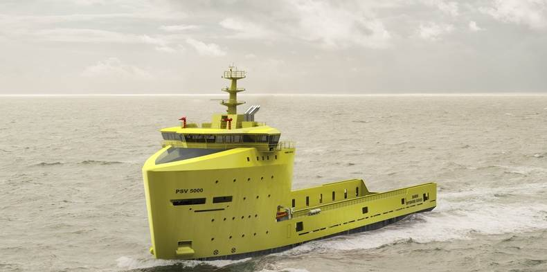 Ice Class Damen PSV Scales New Heights