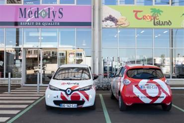 Renault ZOE electric vehicles