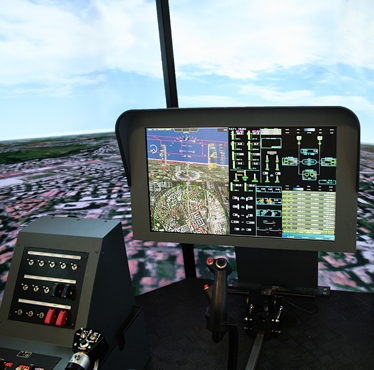 Selex ES Advanced Cockpit With Panoramic Display