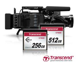Transcend's CFast 2.0 CFX650