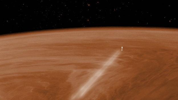 Venus Express aerobraking