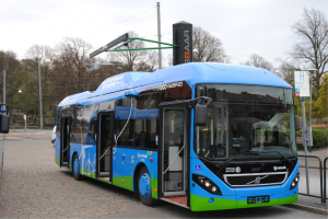 Volvo Electric-hybrid Bus