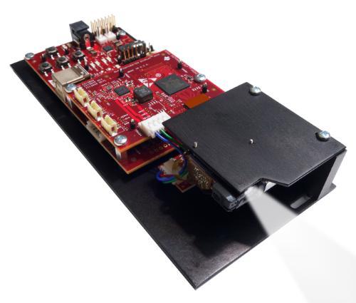 DLP LightCrafter Display 2010 evaluation module