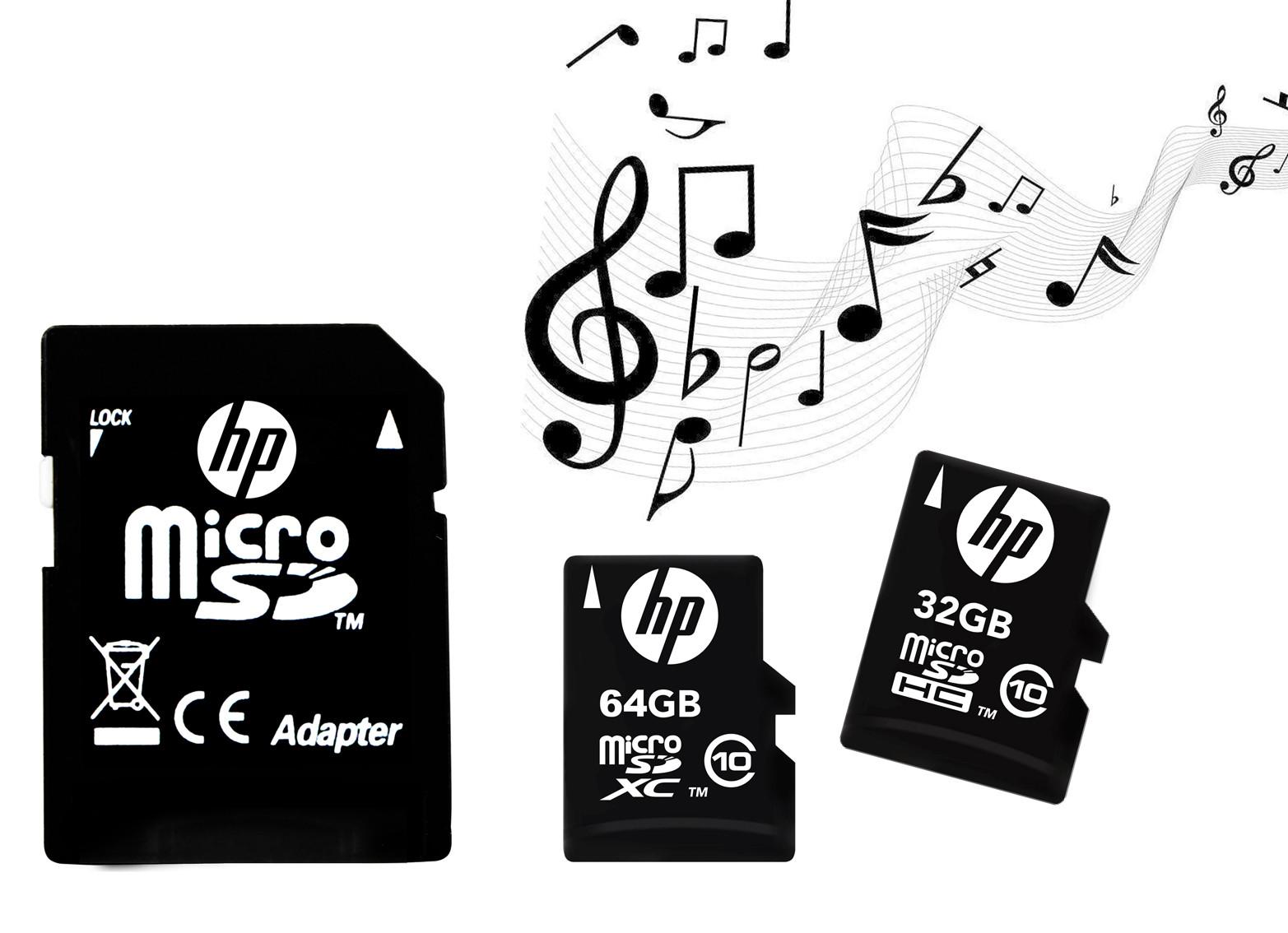 HP TF C10 Micro-SDXC Card
