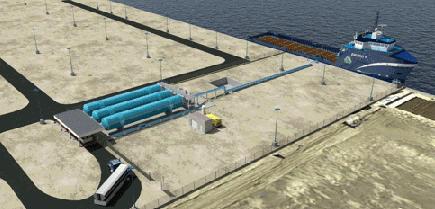 Harvey Gulf LNG Fuelling Facility