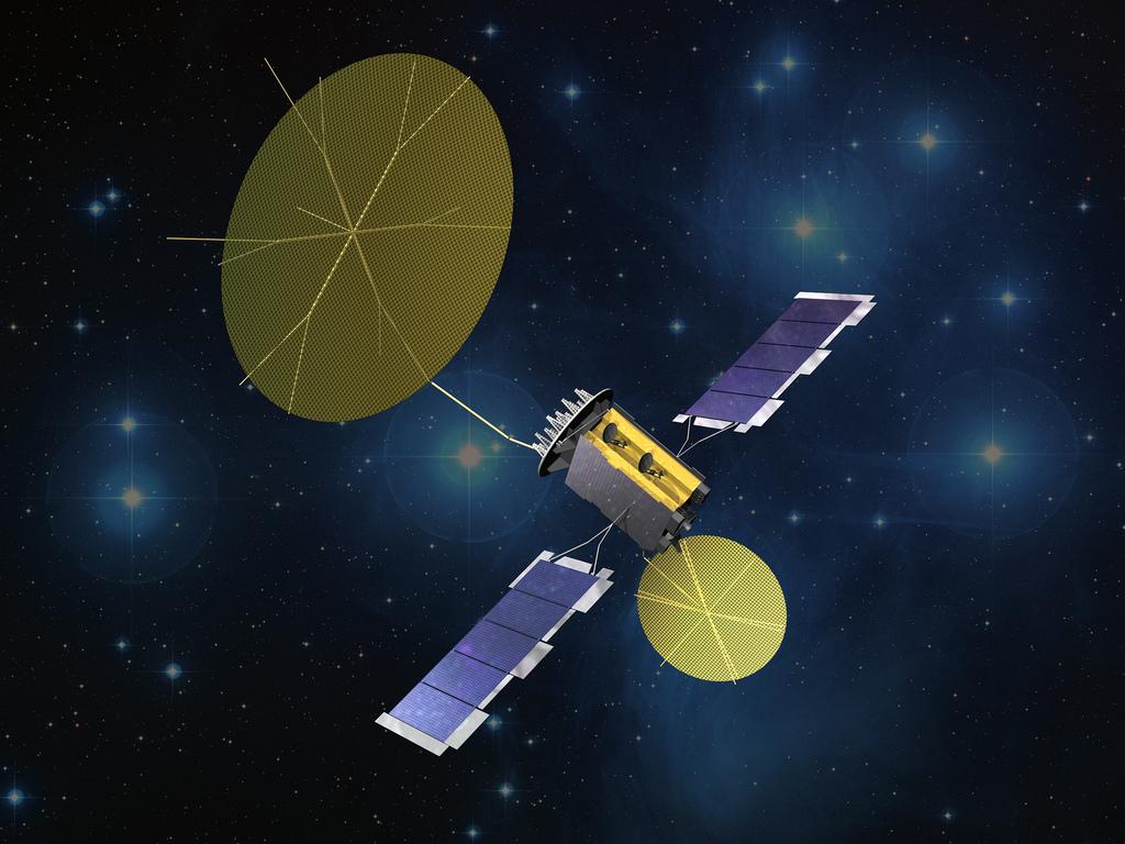 MUOS Communication Satellite