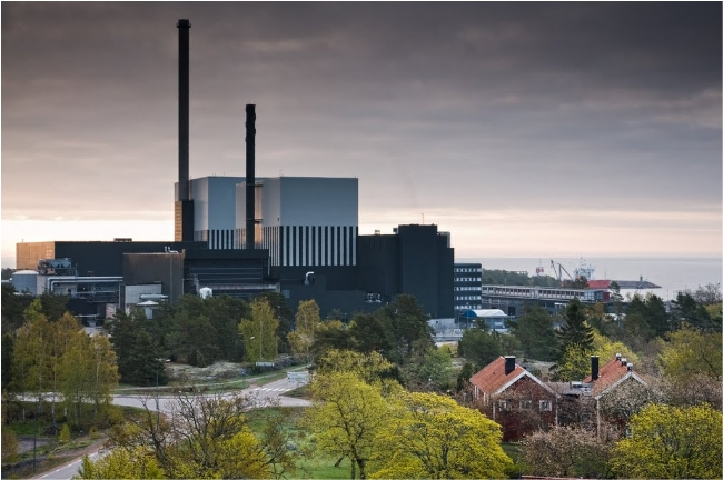 Oskarshamn nuclear power plant