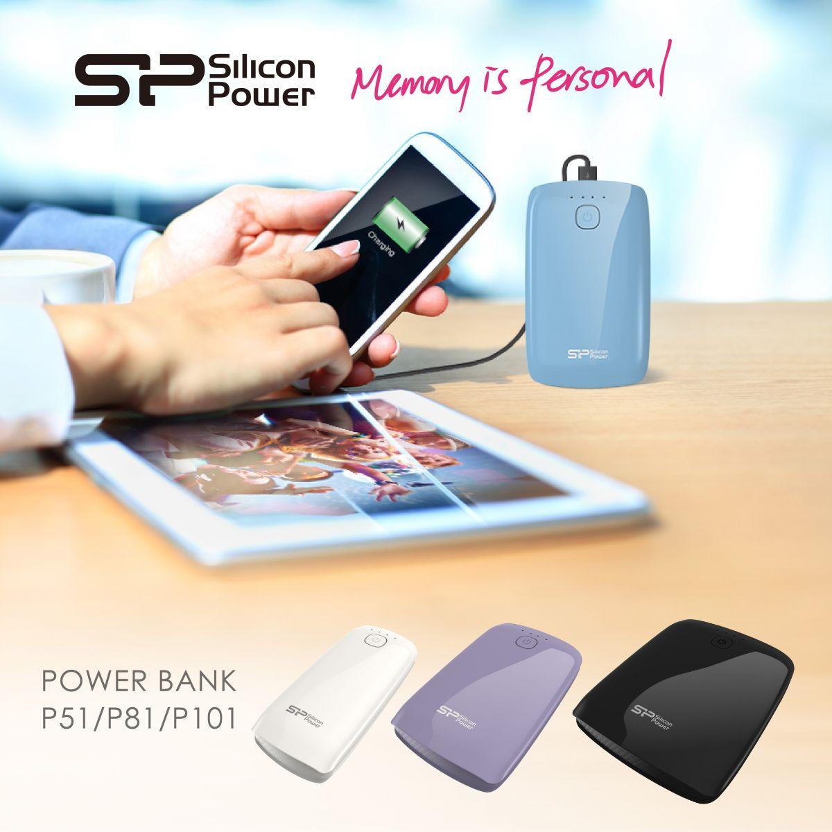 Power Bank- Power P51, Power P81 And Power P101