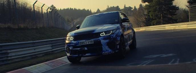 Fastest Production SUV Around Nurburgring – Range Rover Sport SVR