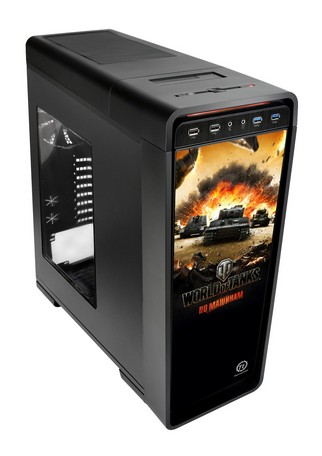 Thermaltake Unveils Urban S71 World Of Tanks Edition windowed Full-tower Chassis