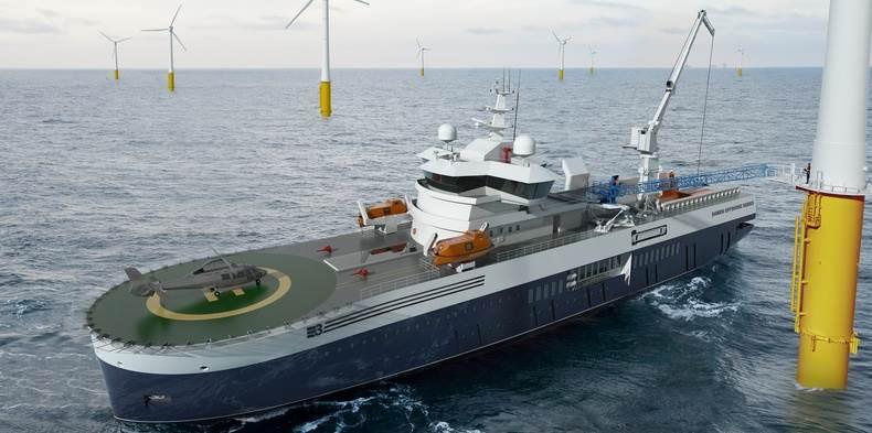 Damen Walk 2 Work vessel
