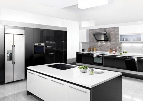 LG Studio premium built-in kitchen package