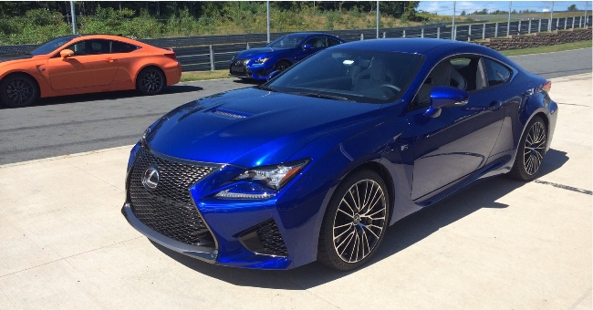 All-new Lexus RC F Develops 351kw – Naturally