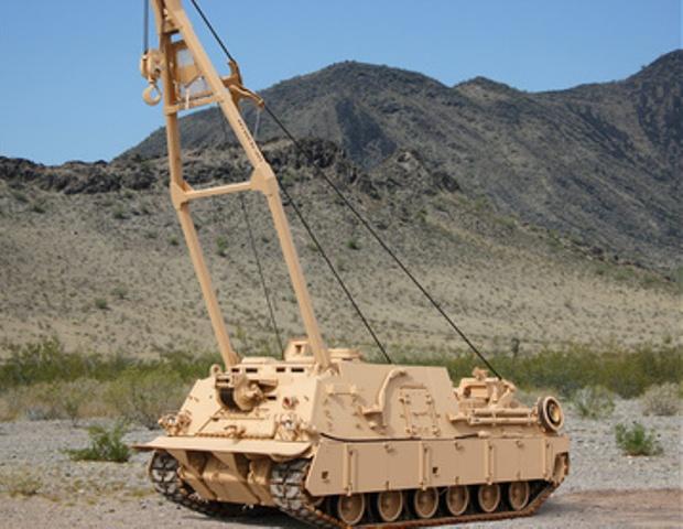U.S. Army HERCULES Recovery Vehicles