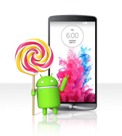 Android 5.0 Lollipop Upgrade To G3