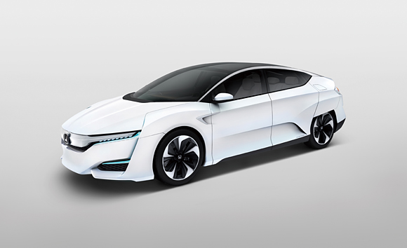 Honda Unveils All-New FCV CONCEPT Fuel-Cell Vehicle