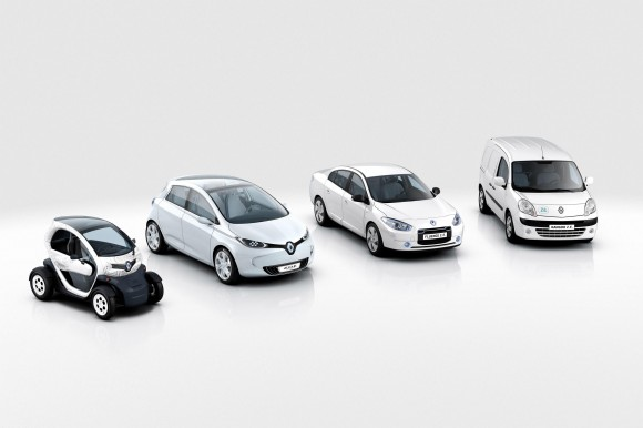 Renault-Nissan electric vehicle