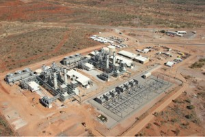 Diamantina combined cycle power station