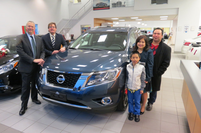 Nissan brand surpasses sales of 100,000 vehicles for first time in Canada