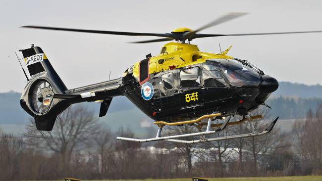 EC135 T2+ Training Helicopter