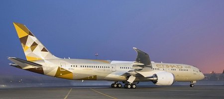 Etihad Airways 787-9 Dreamliner