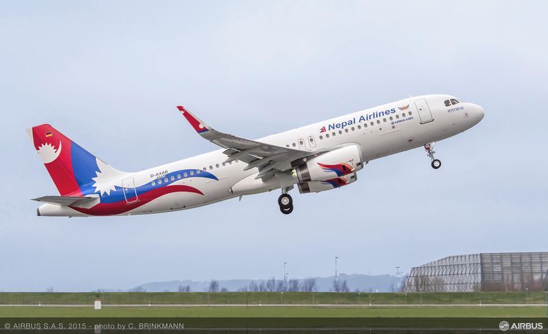 A320 Nepal Airlines