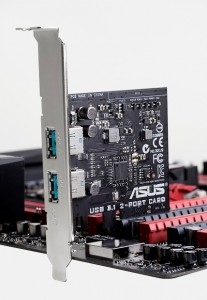 ASUS USB 3.1 Cards
