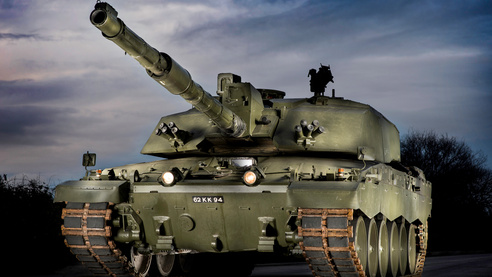 British Army Main Battle Tank