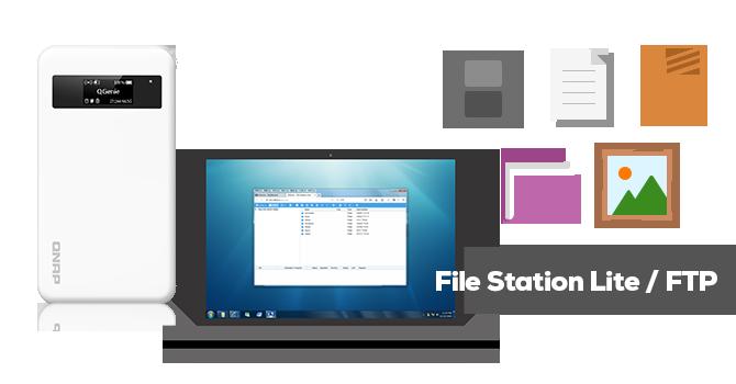 File Station Lite for QGenie