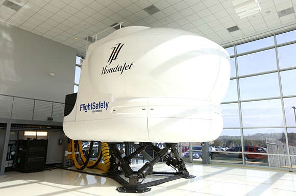 HondaJet Flight Simulator