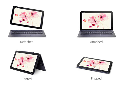 ASUS Transformer Book T300 and T100 Chi series