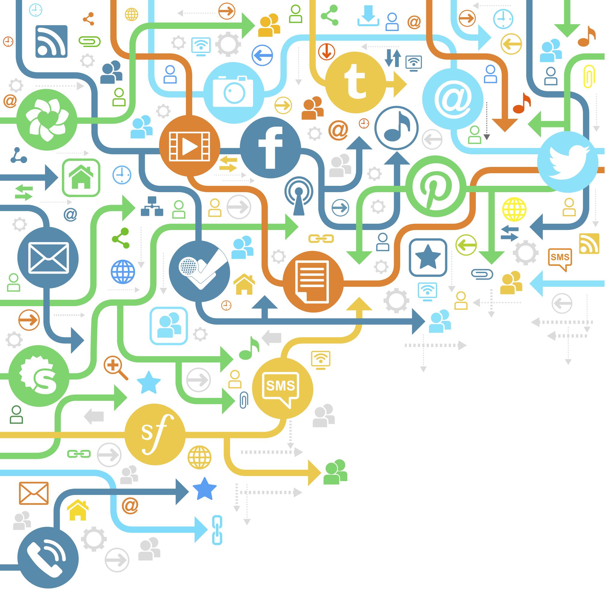 Big data collected through social media
