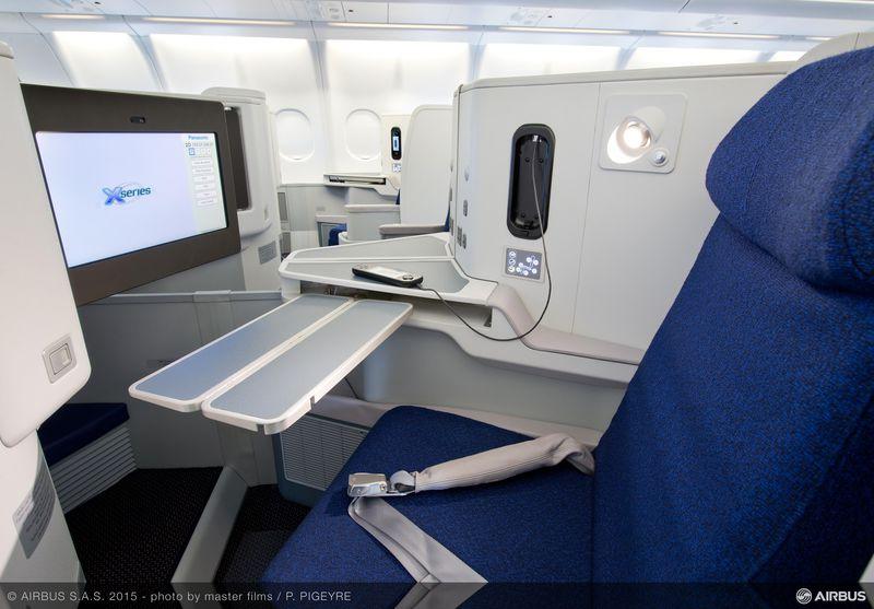 A330-200 Air Algerie new cabin