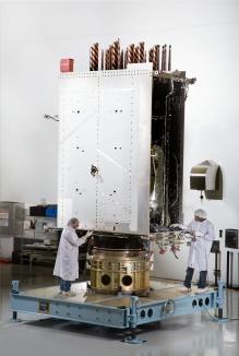 GPS III space vehicle