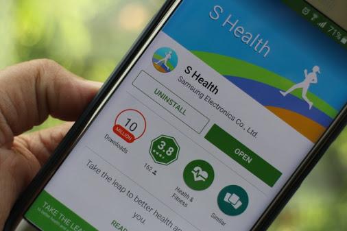 S Health version 4.5