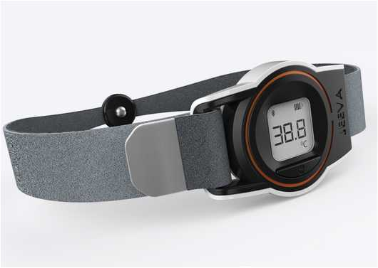 World's Most Advanced Wearable Thermometer – Check-my-Temp