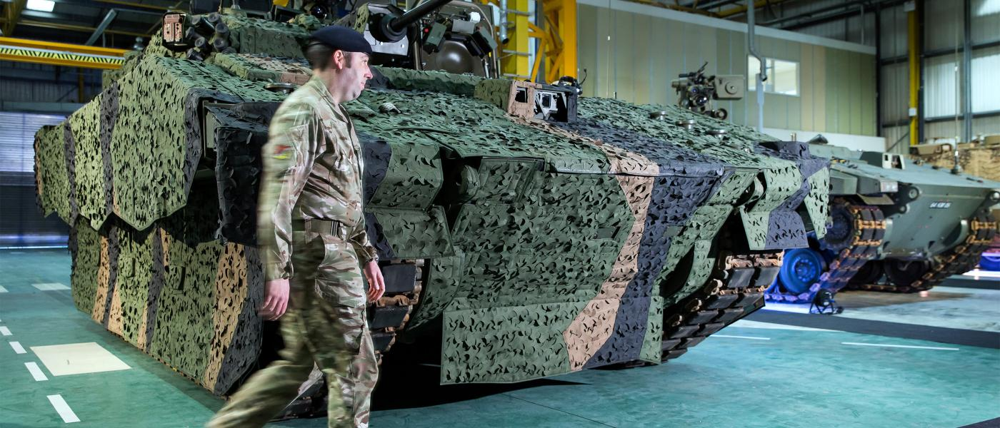 Armoured Fighting Vehicle Assembly at Merthyr Tydfil