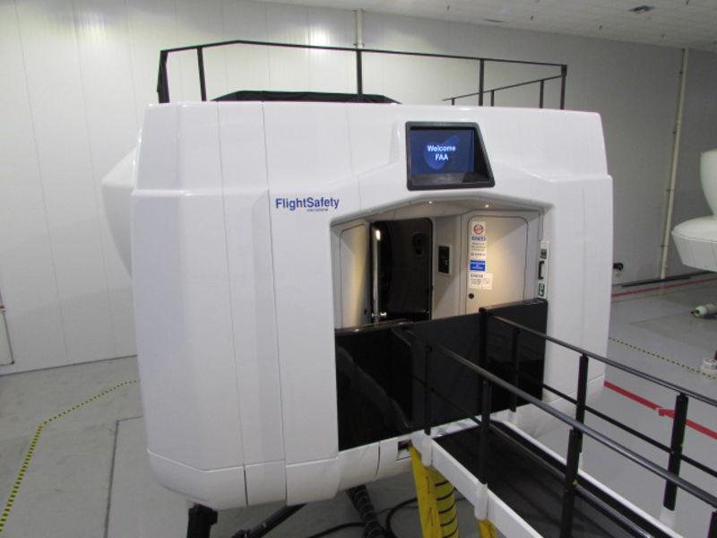 A350 XWB Full-flight Simulator Installed at Airbus Training