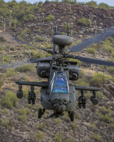 AH-64E Apaches Helicopters